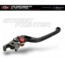 Levier de frein Titax Streetfighter Normal Chrome R22