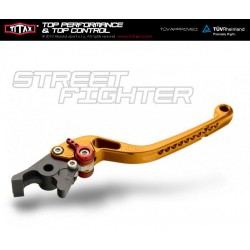 Brake lever Titax Streetfighter normal Gold R22