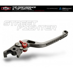 Brake lever Titax Streetfighter normal Red R22