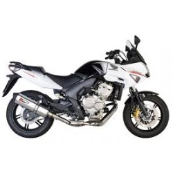 Echappement Mistral Exclusive Poli pour Moto Guzzi V7 III Stone/Spécial /50 Annersary