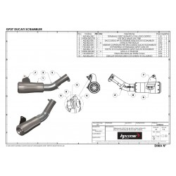Bavette - Honda - CRF1000L Africa Twin, 16-18 - avec crash bars - noir mat