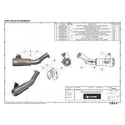 Cache latéral Powerbronze Carbon noir mat Honda - CRF1000L Africa Twin, 16-18