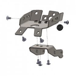 Levier de frein court MG-Biketec 997006