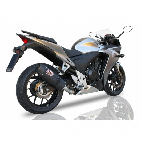 Exhaust Hpcorse HydroTre + covers carbon - Mv Agusta Brutale 675 / 800 - Rival - Dragster (euro3)