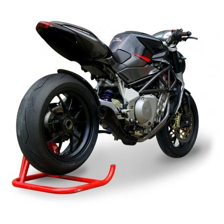 Exhaust Spark Megaphone Dark Style - Ducati Monster 696 08-14 / 796 10-14 / 1100 / S 09-10