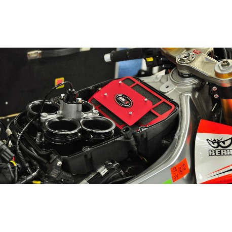 Exhaust Ironhead black - Harley-Davidson Sportster XL 883 / 1200 04-13