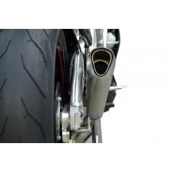 Rear oil tank 8ml black Bonamici Racing