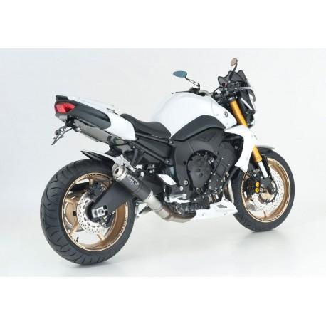 Full line IXIL Slashed Cone Xtrem black - Yamaha MT-09 13/+ // Tracer 900 15-17 // XSR 900 16/+