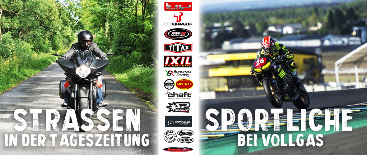 Entdecken Sie unsere Motorradteile Marken : Ixil, IXrace, Titax, Chaft, MWR, Harisson, Spark, Hp Corse, Bonamici Racing, Darts, Ironhead, Powerbronze, Falcon, Hurric, Shark,